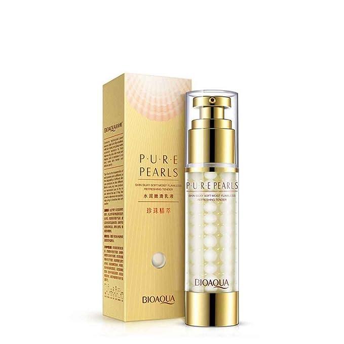 Babysbreath17 35g Perla Crema Facial Antiarrugas Facial Loción Blanqueadora Crema Hidratante colágeno hidrolizado: Amazon.es: Hogar
