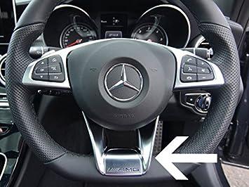 Embellecedor para volante de AMG (2244614333), para Mercedes CLA: Amazon.es: Coche y moto