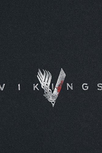 Felpa Vikings Valhalla Nero Welcome Jogging To vvq4YxT
