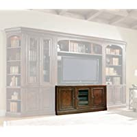 Hooker Furniture 374-55-482 European Renaissance II 62 Entertainment Console, Dark, Rich Brown Finish