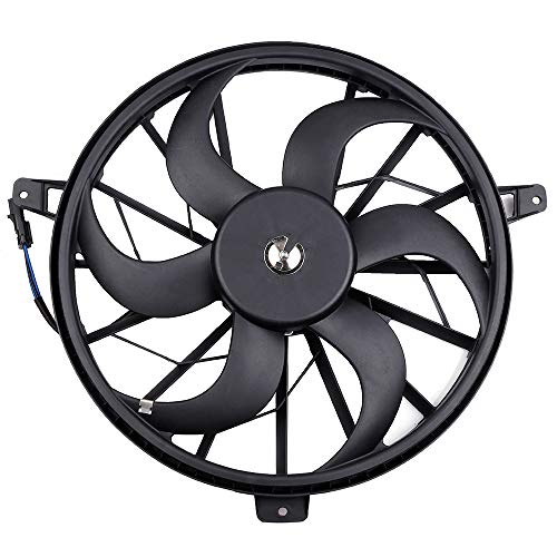 ECCPP Radiator Cooling Fan 2661-0116 Replacement fit for 2002 2003 2004 Jeep Grand Cherokee 4.0L