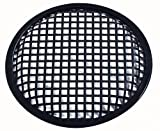 10'' Inch Car Audio Speaker Sub Woofer Subwoofer Metal Black Waffle Grill Cover Guard Protector Grille Universal