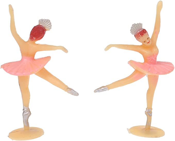 12pcs Lovely Mini Dancing Girl Ballerina Ballet Baby Shower Party Decorations