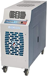 product image for Kwikool 1.1 Ton Biokool HEPA Filtered Portable Air Conditioner, Stainless Steel, 13,800 BTU, 115V