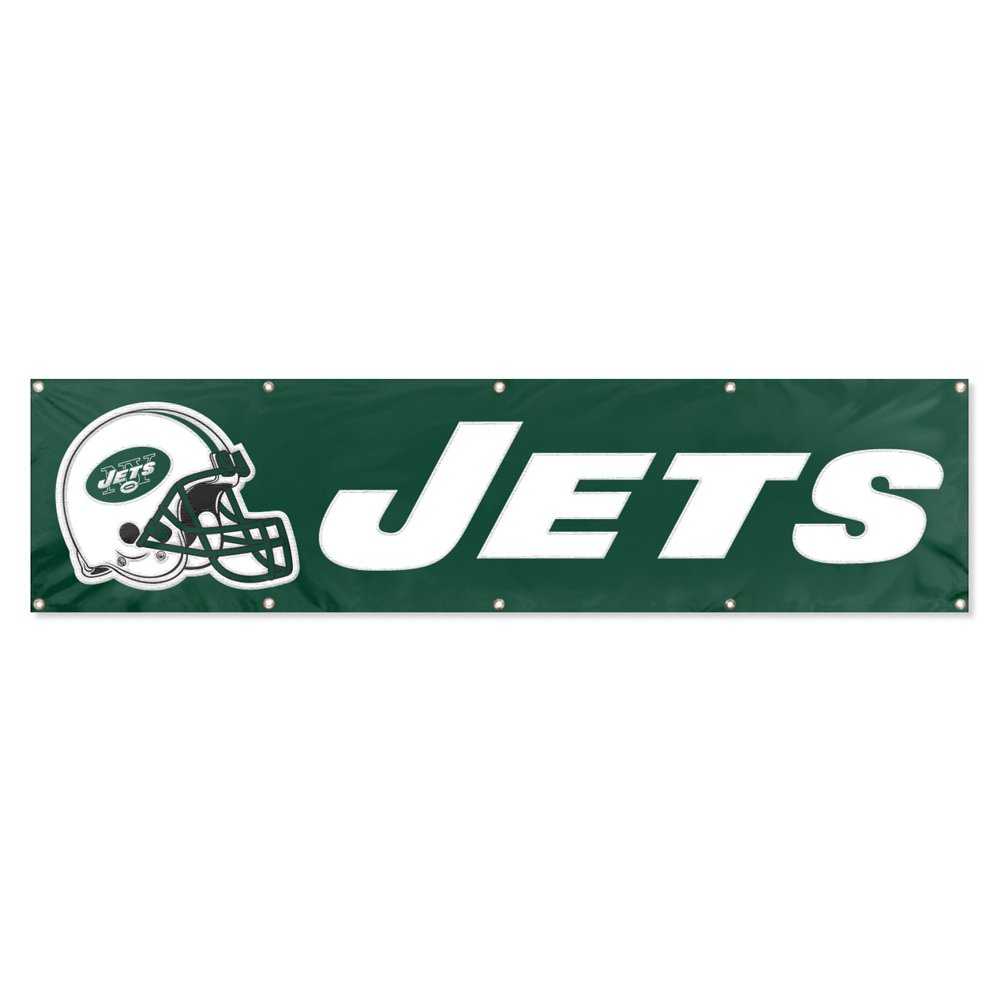 Party Animal New York Jets 8'x2' NFL Banner
