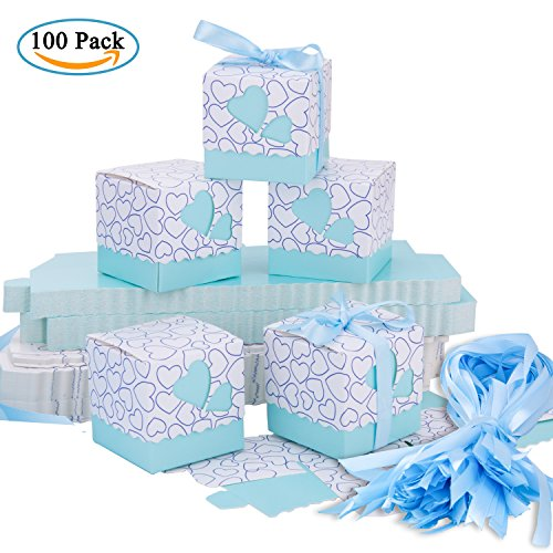 Wedding Favour Boxes Meersee 100 Small Candy Boxes Party Gift