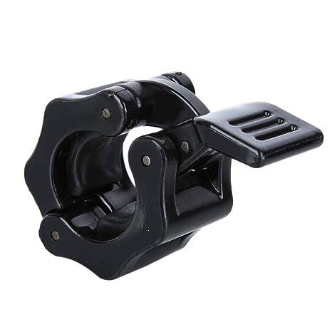 Leezo - 2 Abrazaderas de Pesas para Mancuernas de Pesas de 50 mm para Gimnasio,