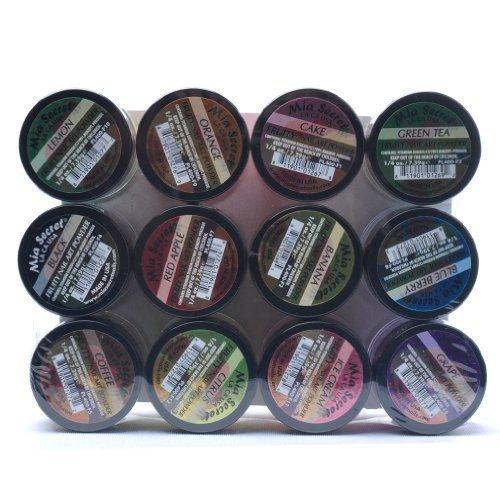 - Mia Secret Nail Art Acrylic Powder 1/4 Oz Each Bottle Assortment of 12 Colors Fruit