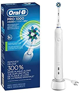 Oral-B White Pro 1000 Power Rechargeable Electric Toothbrush, Powered by Braun (B003UKM9CO) | Amazon Products