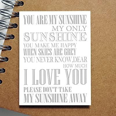 You Are My Sunshine mi única Sunshine amistad Inspirational imán ...
