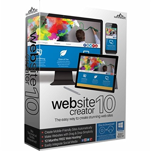 Website Creator 10 - Easy way to create stunning web sites