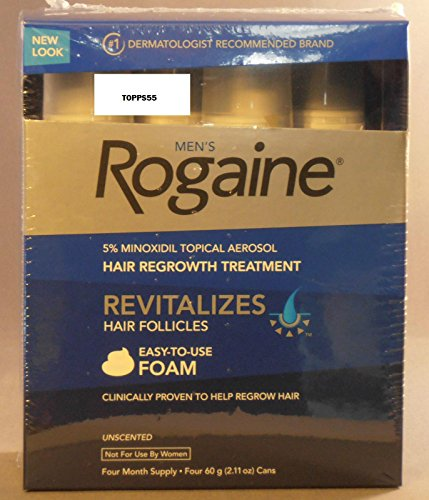Rogaine Sealed Minoxidil Months Shipping