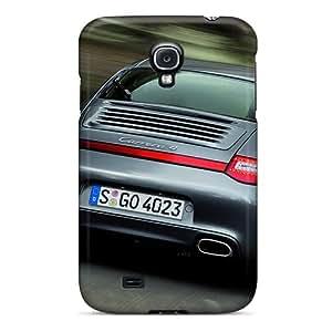 High Grade MQMshop Flexible Tpu Case For Galaxy S4 - Porsche Carrera 4