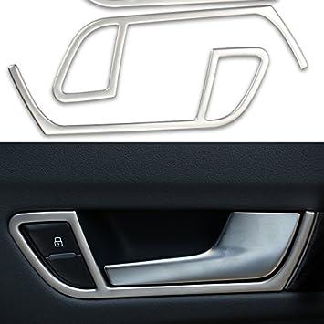 Amazon.es: Pack de 4 embellecedores para tirador de puerta interior, de Automan, para Audi