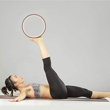 Amazon.com: Lotuny Mandala Yoga Wheel Yoga Rad Natural Cork ...