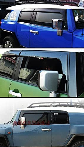 For Toyota FJ Cruiser 2007-2014 visors Side Protector Shield Vent Guards Premium