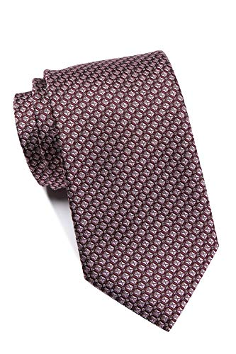 Hugo Boss Men's Lattice Pattern Silk Tie