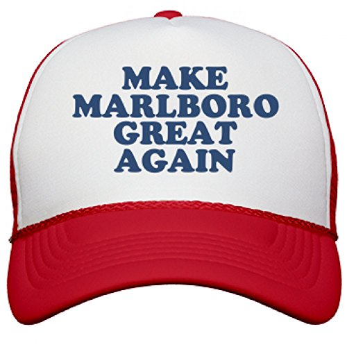 make-marlboro-great-again-hat-snapback-mesh-trucker-hat