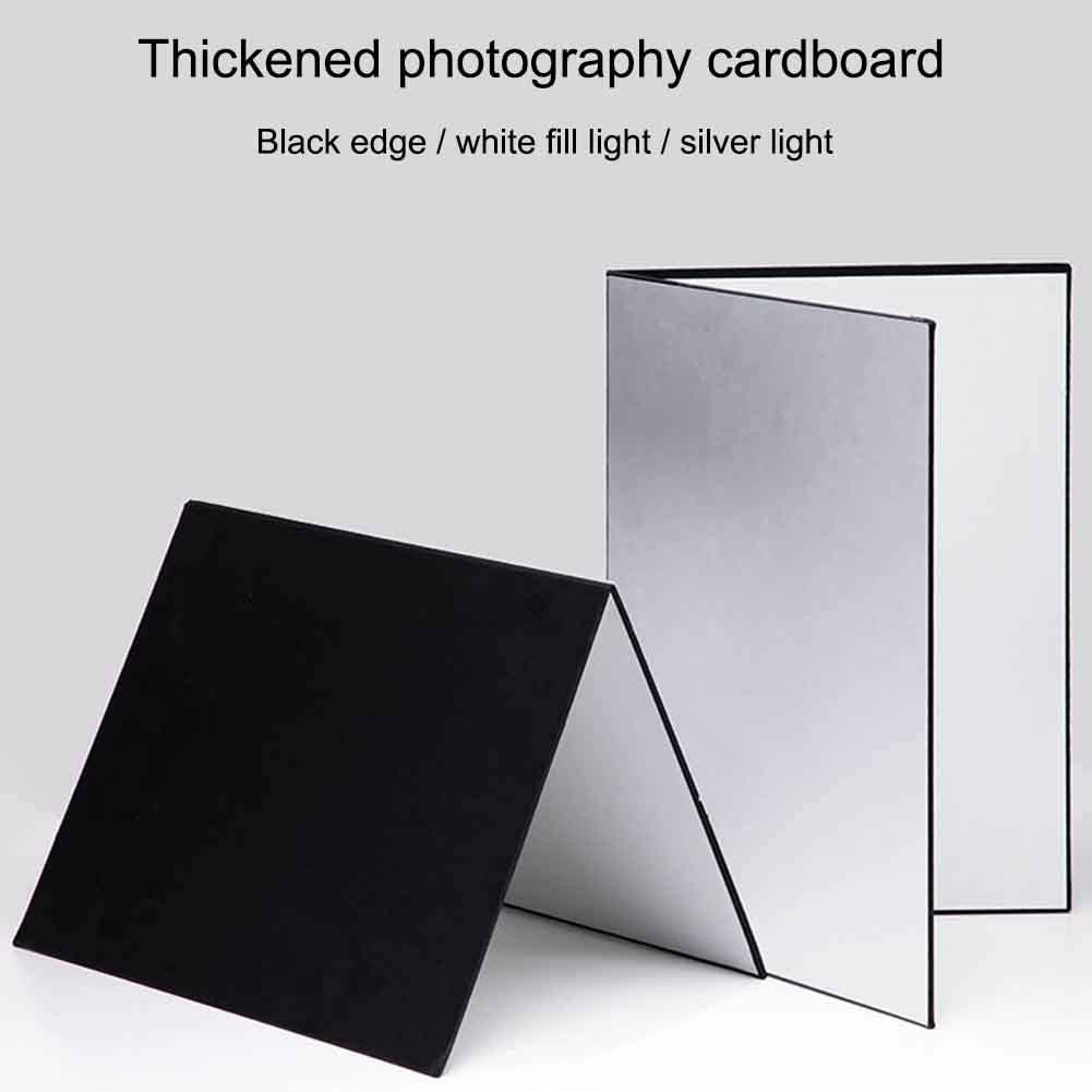 RICH 3 In1 Multipurpose for Photography Cardboard Light Reflector Foldable Absorber