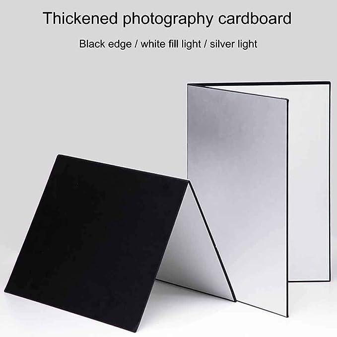 Xhxseller 3 In 1 Mehrzweck Reflektor Für Fotografie Aus Karton Faltbarer Absorber Küche Haushalt