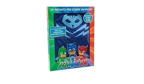 Giochi Preziosi Super pigiamini PJ MASKS disfraz Carnaval gattoboy, talla 4/5 años: Amazon.es: Juguetes y juegos