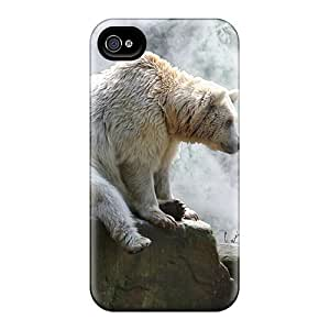 Hot Tpye Bear At Waterfall Case Cover For iphone 5 5s
