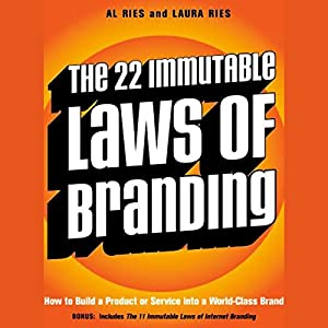 The 22 Immutable Laws of Branding Audiobook