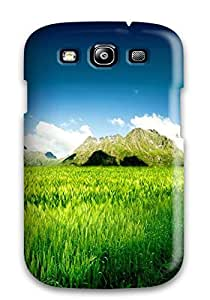 Earurns Galaxy S3 Hybrid Tpu Case Cover Silicon Bumper Fresh Nature Landscape