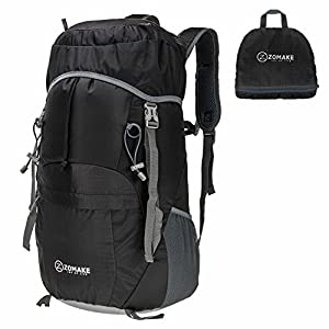 Amazon.com : Lightweight Foldable & Packable Hiking Daypack ...