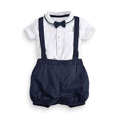 Zerototens 2pcs Toddler Baby Wedding Party Ceremony Formal Suit