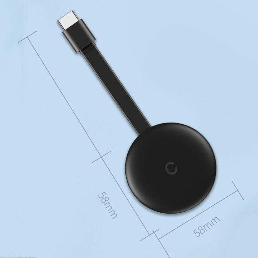 ljym88 WiFi Display Dongle Wireless Screen Share Adaptador HDMI 1080P TV Stick Converter para transmisi/ón de Archivos de Imagen de Video Compatible con DLNA Miracast Negro