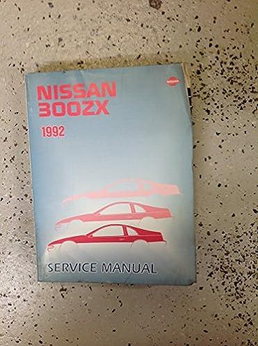 1992 nissan 300zx service manual free owners manual u2022 rh wordworksbysea com 1990 Nissan 300ZX 1994 Nissan 300ZX