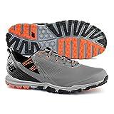 New Balance Men's Minimus SL Golf Shoe, Grey/Orange, 10.5 D D US
