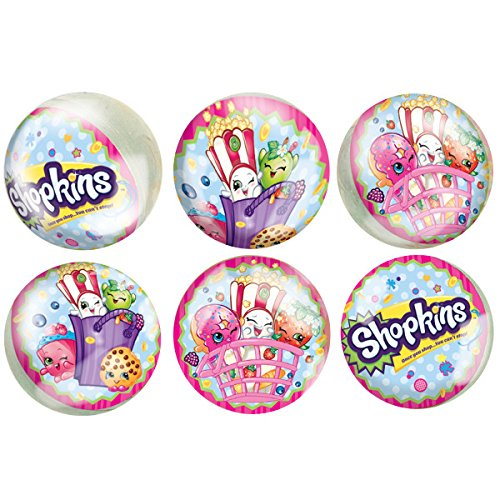Shopkins Bouncy Ball Party Favors, (Costume Super Center.com)
