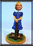 Shirley Temple 4 3/4 inch Resin Figurine Danbury Mint Silver Screen Collection