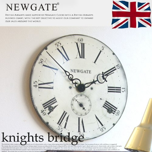 Knights bridge(ナイツブリッジ) ウォールクロック 掛け時計 B00H7NVFESマルチカラー