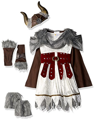 California Costumes Valorous Viking Girl Costume, Multi, Small (Warrior Girl Costume)