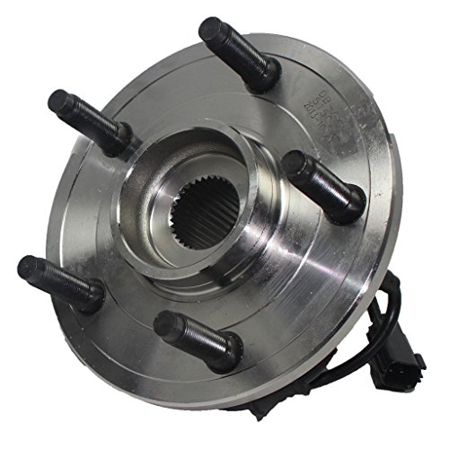 Detroit Axle - Front Driver or Passenger Side Wheel Hub and Bearing Assembly for - 02-05 Dodge Ram 1500 w/ABS