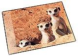 Läufer Motif Desk pad Meerkats Erdmännchen