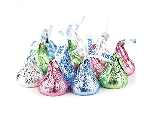 Pastel Easter Hershey Kisses 2 pounds Spring Easter Candy