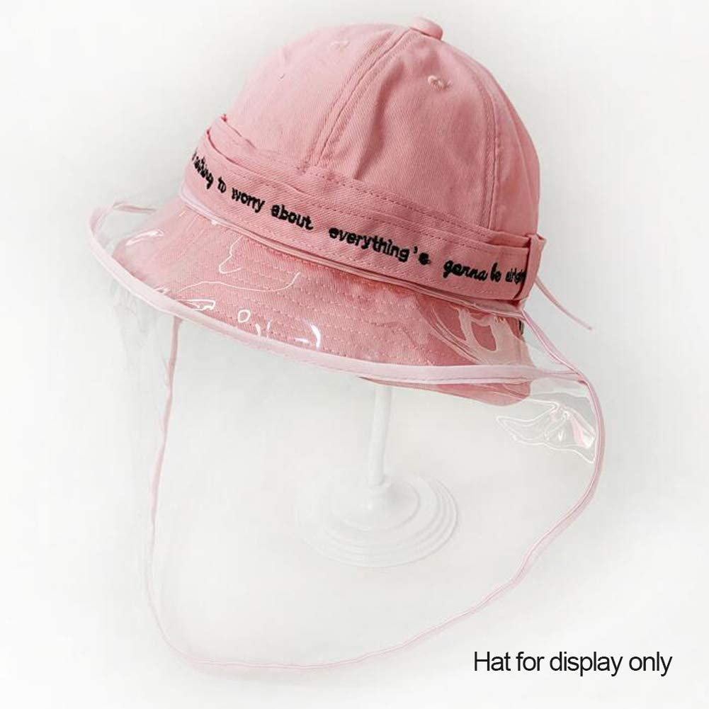 Sunflower Removable Face Mask Suits Any Kinds of Hats,Anti-Spitting Cap Cover,Isolate Saliva Bucket hat Mask for Kids