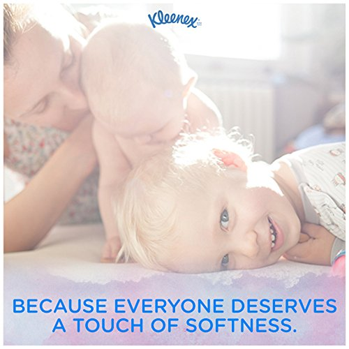 51N1hQTwTQL - Kleenex Trusted Care Facial Tissues, 20 Packs of 3 On-The-Go Travel Packs, 10 Tissues per Pack (600 Tissues Total)