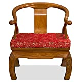 Hand Crafted Rosewood Chow Leg Monk Chair – Natural For Sale