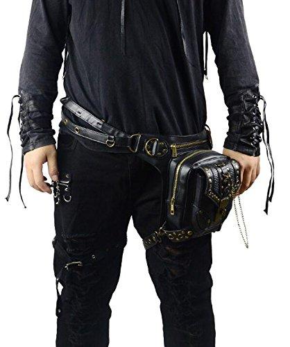 tracolla StyleSteampunk da donnaVintage PunkBorsa a 2WEHIY9D