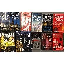Daniel Silva Thriller Novel Collection 12 Book Set