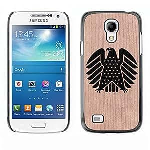 - Coat Arms America Patriotic Stand Up - - Funda Delgada Cubierta Case Cover de Madera FOR Samsung Galaxy S4 MiniI9190 I9192 I9195 BullDog Case