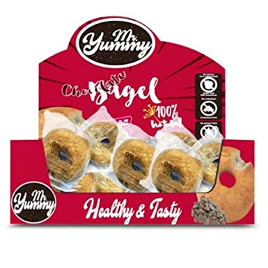 Rosquilla Bagel con Chocolate Mr. Yummy 60g: Amazon.es ...