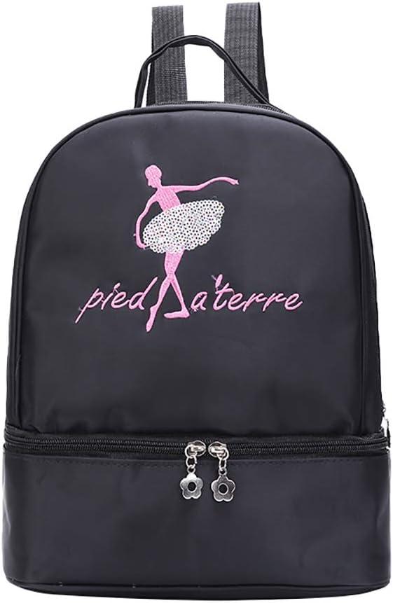 Bolsa de gimnasia para ni/ñas ballet hip-hop Tap bolsa de danza para ni/ños adolescentes bolsa de transporte