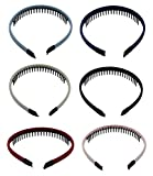 Girls/Women Mixed Color Plastic Teeth Comb Hair Hoop - Best Reviews Guide