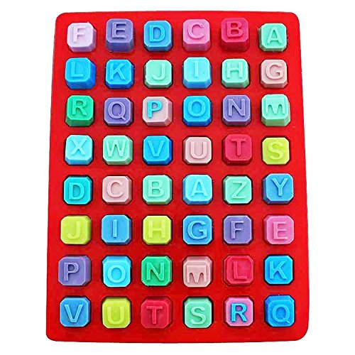 YutPro(TM) 3D Bakeware 26 Alphabet Silicone Mold Cookie Chocolate Cooking Baking Pastry Tool Kitchen Gadgets Accessories Supplies Stuff